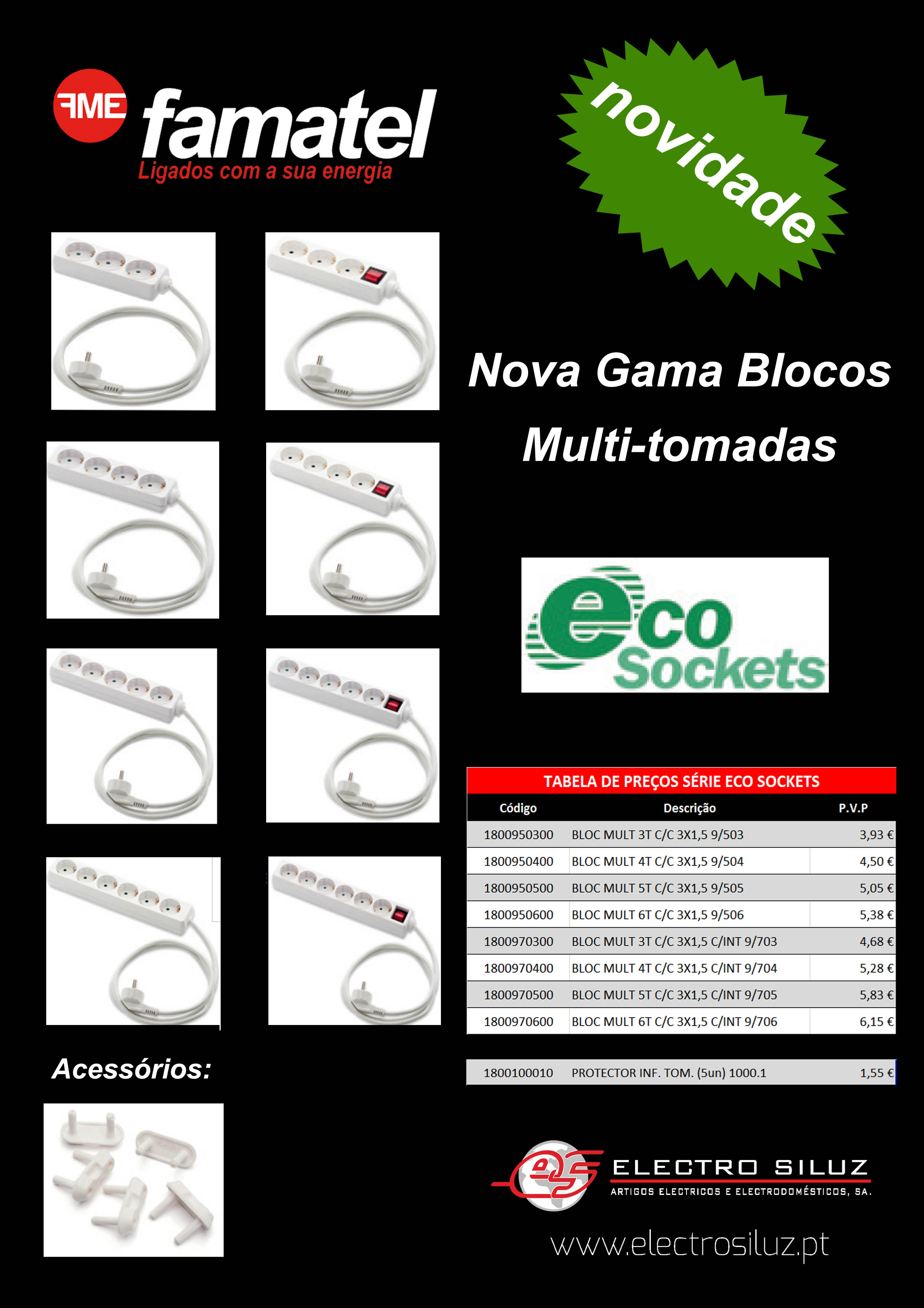Nova  blocos Gama Eco Sockets